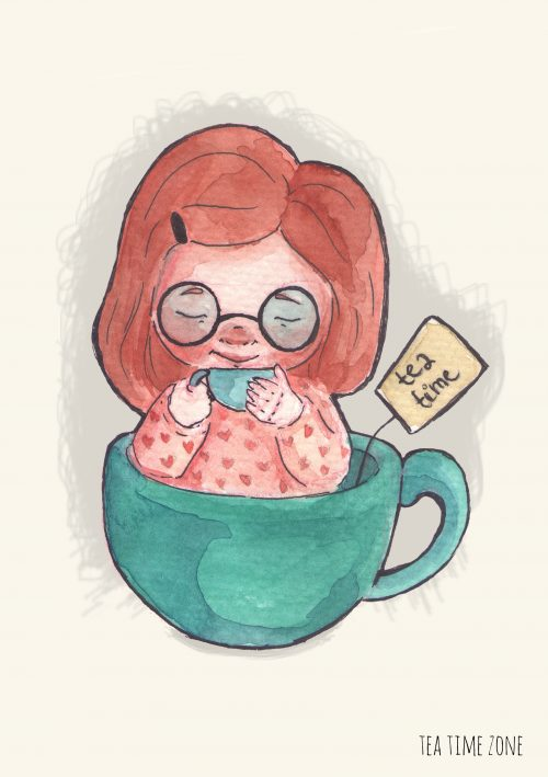 Tea Time Girl