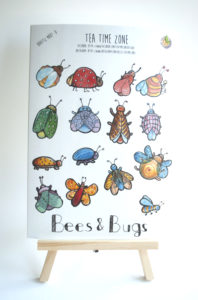 bees and bugs stickers